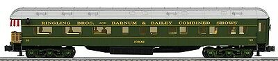Lionel 6-22225 Ringling Bros Jomar Heavyweight Private Passenger Car O Scale