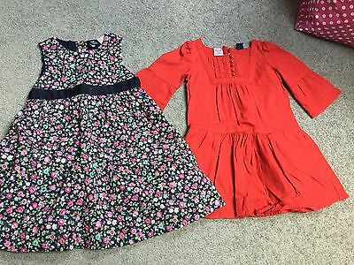 Two Baby Gap Girls Party Dresses Age 3
