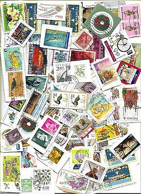 stamps of the world used on paper 300gms