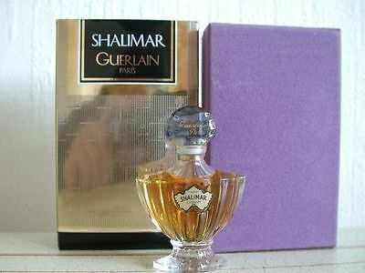 Vintage Very Rare Pure Perfume Extrait Shalimar Guerlain Mib Sealed Bottle