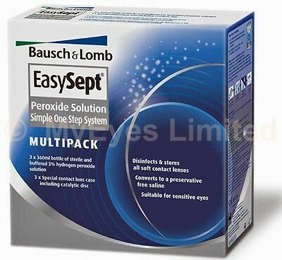 EasySept Peroxide Solution Simple One Step Solution 3 Month Supply