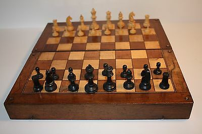 Vintage Chess Set Board And Games