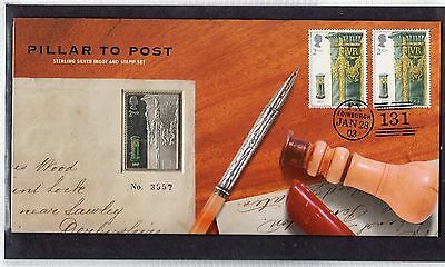 GB Pillar to Post Cover with Silver Ingot 3557