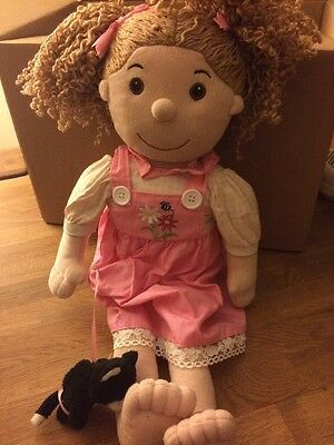 Rag Doll With Pink Dress