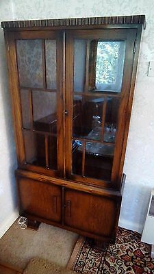 Vintage Display Oak Bookcase/Unit