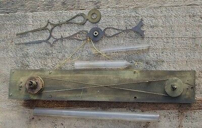 Genuine Antique 19th century Barometer Rack with Hands