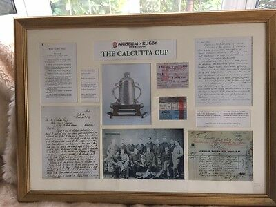 Montage of Calcutta Cup