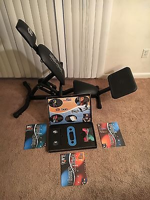 BODY BY JAKE BUN & THIGH ROCKER EXERCISE MACHINE WITH BANDS Excellent Condition