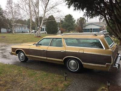 1973 Ford Other LTD BROUGHAM 1973 Ford Country Squire Station Wagon
