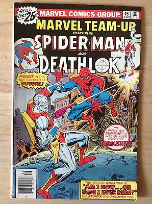 Marvel Team-Up #46 - Deathlok - Zustand FN/VF