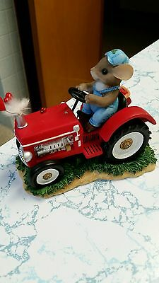 """Charming Tails Tractor  """" You Make My Heart Putter"""""""