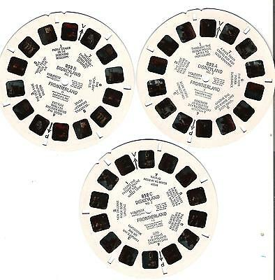 169) Viewmaster Reel - Disneyland - Frontierland - 852ABC