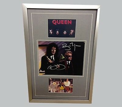Queen Hand Signed/Autographed Photograph with COA
