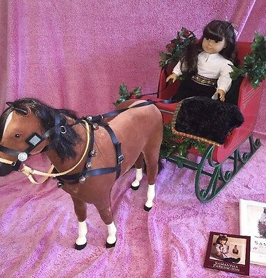 American girl sleigh with horse. DOLL NOT included