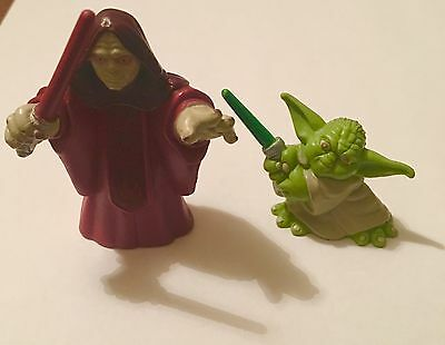 Star Wars Galactic Heroes- Emperor Palpatine And Yoda - Revenge Of The Sith