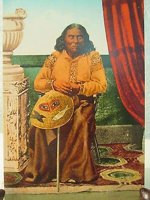 Antique/ Vintage Native American Indian Postcard Chief Seattle 660