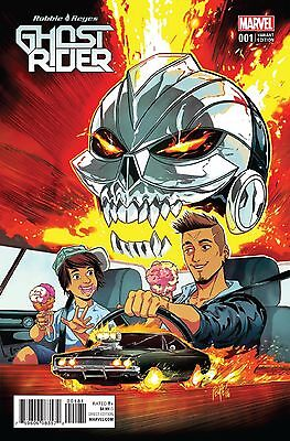 Ghost Rider #1 Marvel Comics 2016 Felipe Smith Variant Cover Comic Book