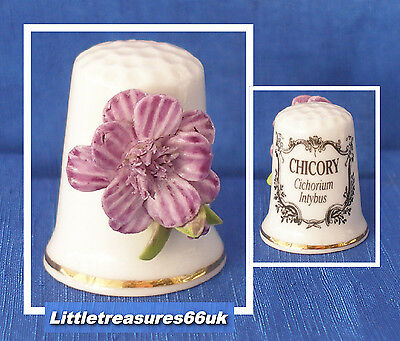 China Applied Herb Flower Thimble.....chicory