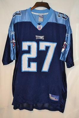 Reebok Tennessee Titans George 27 Nfl Amercian Football Jersey Size Large Mens