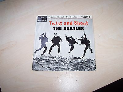 the beatles twist and shout parlophone gep 8882.  ex+++