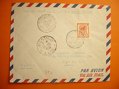 1956 - Lao Cover From Vientiane
