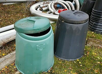 Compost bins (50 brand new with lids)