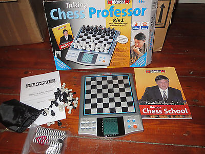 Talking Elctronic Chess Game Anatoly Karpov 8 Games In 1