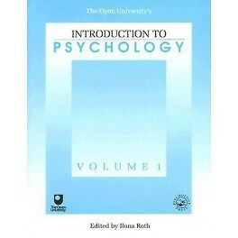 Open University's Introduction To Psychology Volume 1