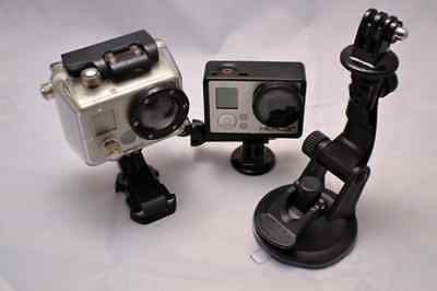 Snap-Lock Suction Cup GoPro Mount