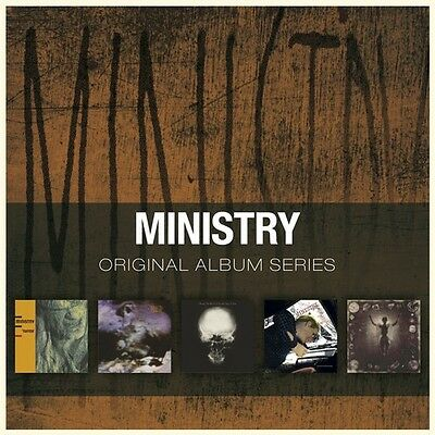 Ministry - Original Album Series [New CD] Holland - Import