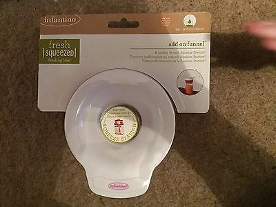Infantino add on funnel for squeeze station new