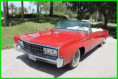 1966 Chrysler Imperial Crown Imperial Crown Convertible 1966 2 Door Used Automatic Chrysler Convertible Imperial Cadillac Crown Classic