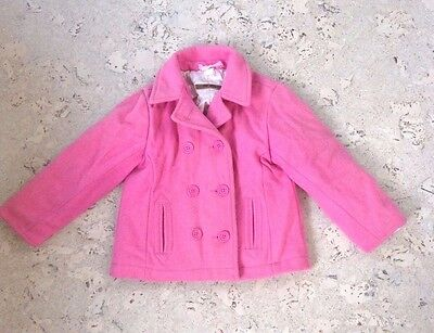 Girls pink wool winter coat by Old Navy (age 4)