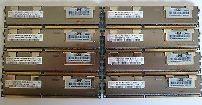 64GB (8x8GB) PC3-10600R ECC DDR3 HP Proliant ML150 ML330 ML350 ML370 G6 G7 G8