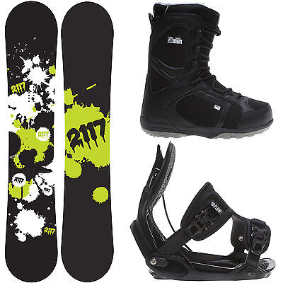 2117 Of Sweden Identity (W) 155 Mens Snowboard + Flow Bindings + Head Boots