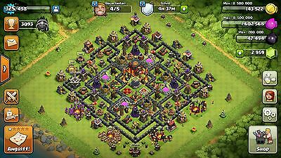 Clash of Clans Level 125 Account