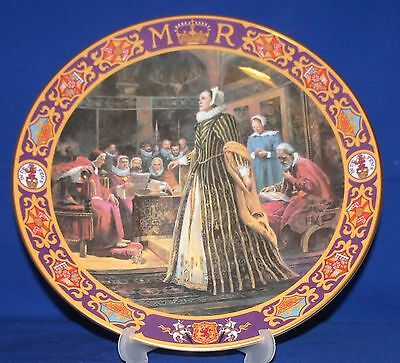 Royal Doulton Kings & Queens Of The Realm~Queen Mary at Fotheringhay Castle