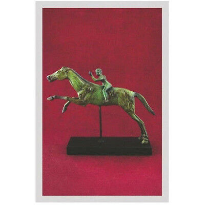 Ancient Greek Bronze Museum Statue Replica The Rider Of Artemision Collectable