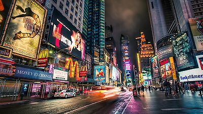 CANVAS PRINT PHOTO PICTURE 30x20inch New York City Urban