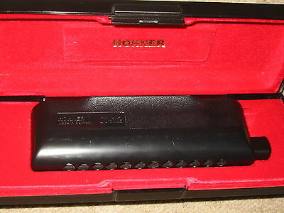 "Nice Chromatic Harmonica Hohner "" CX12"" in case!"