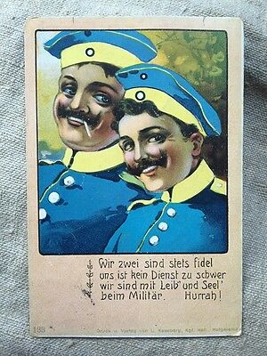 Collectable German Naval pre WW1 Imperial Post Card. 1st December 1910