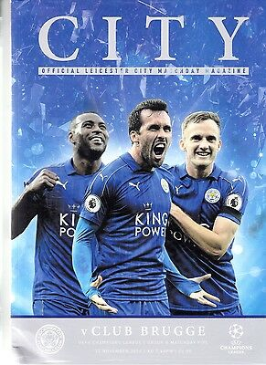 Leicester City v Club Brugge (UEFA Champions League) 22.11.2016