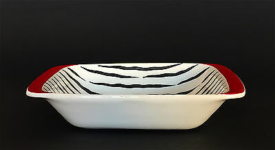 Vintage Midwinter Fashion Shape 'Zambesi' Hors-d'oeuvre Dish Jessie Tait c.1956