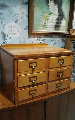 vintage industrial wooden drawers