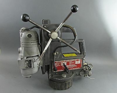Gamag 59020 MTS Adjustable Electro-Magnetic Base & Milwaukee Drill Press