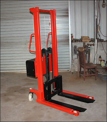 New 1 Ton Manual Forklift Pallet Stacker Lift 1.6m Free Shipped by Sea