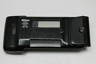 Nikon Mf-21 Multfunction Back F801 F801S N8008 - Tested Working