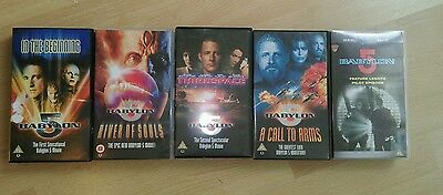 Collection of Babylon 5 VHS - Collectable