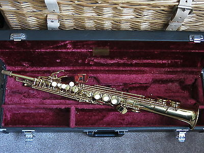 Yamaha Yss-475 Soprano Saxophone An Awesome Classic Sounder + Hard Case Ex-Cond