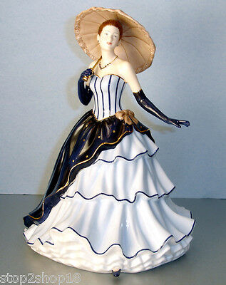 Royal Doulton AMY Pretty Ladies Figurine Holding Parasol Umbrella HN 5515 NEW